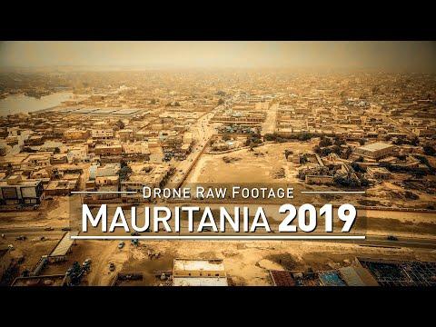 【4K】Drone RAW Footage | MAURITANIA 2019 ..:: Nouakchott | UltraHD Stock Video
