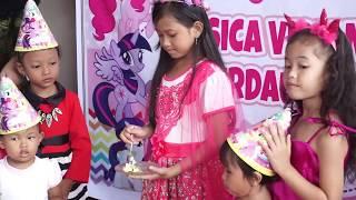 Selamat Ulang Tahun Jessica ke-9 💖 Happy Birthday Party Jessica 9th