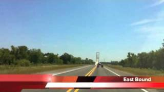 John James Audubon Bridge in 60 seconds