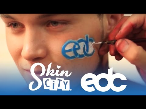 Electric Daisy Carnival (EDC) 2012 - Skin City Body Painting