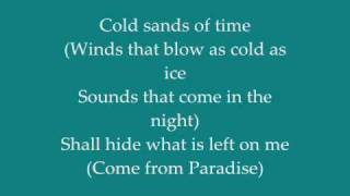 The Alan Parsons Project - To One In Paradise (lyrics)