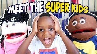 SUPER KIDS Visit Super Siah Pretend Play!!!