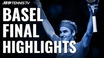 Roger Federer Claims 10th Basel Title | Basel 2019 Final Highlights