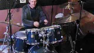 free drum solo par Michel Bontemps.wmv