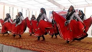 """Meri Patli Kamar Nada Ghubeer Laaiyo"" Haryanvi Dance GWC Ateli || KING DANCE SCHOOL"