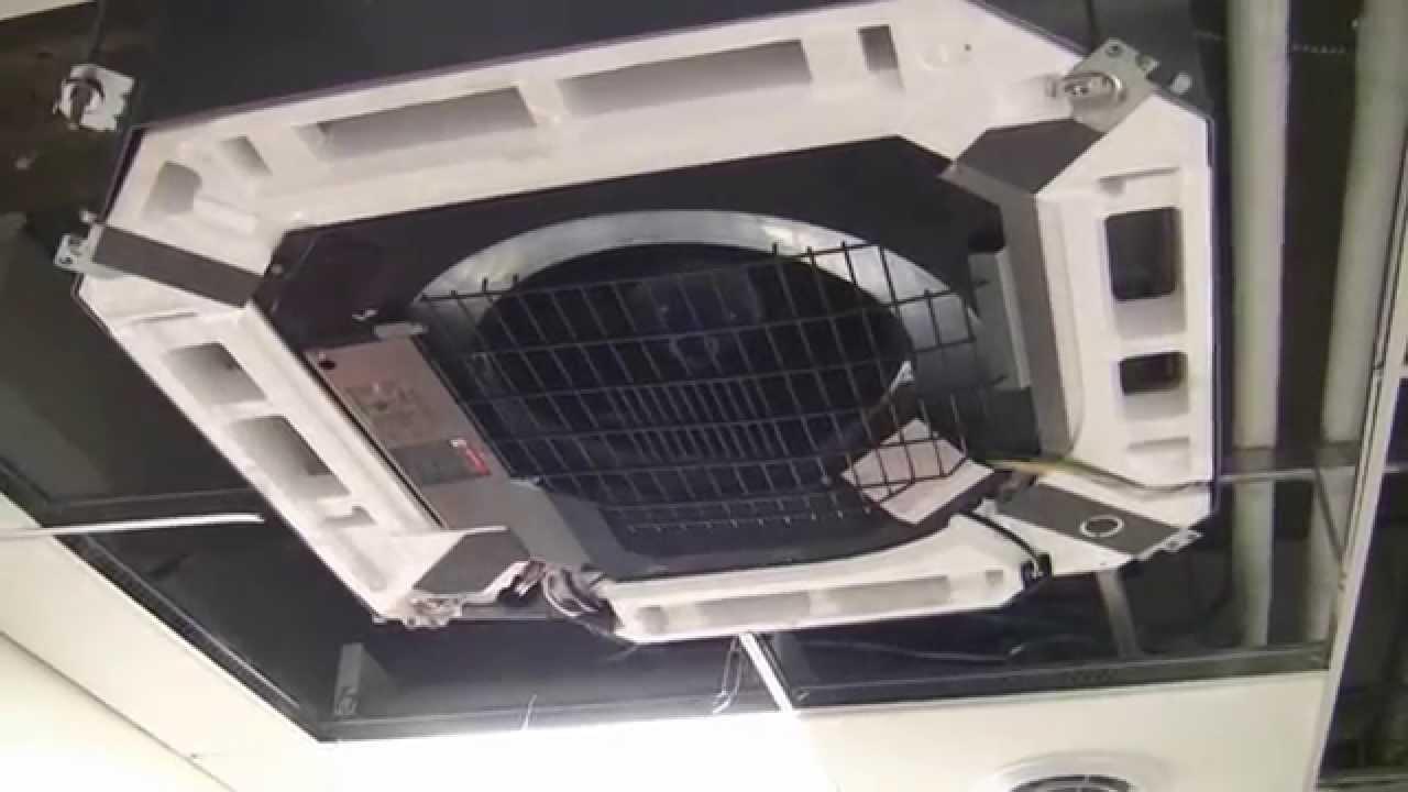 hight resolution of daikin vrv s flat ceiling cassette ductless split ac heat pumps youtube
