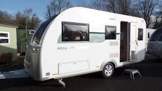 New Adria Altea Eden 2016 model touring caravan tour