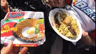 Indonesia Palembang Street Food 3628 Part.2 Indomie Goreng Model Ikan Gandum Pas
