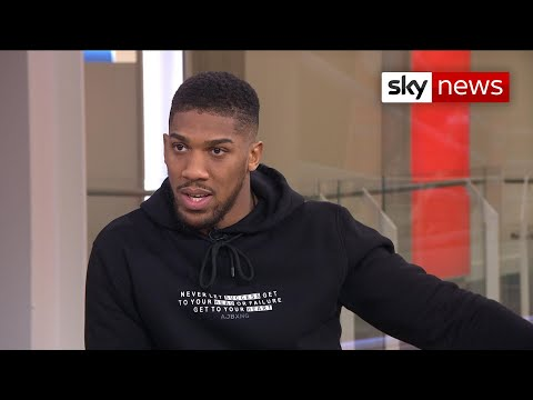 Anthony Joshua: 'Racism in boxing? Nah, they're too scared'