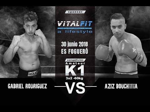 Combate: Azid Bouchtita vs Gabriel Rodríguez