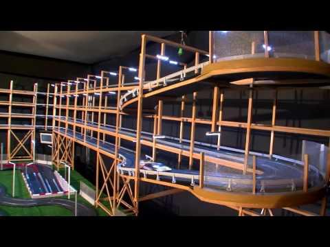 Circuito Scalextric Iluminado  2016   El Video