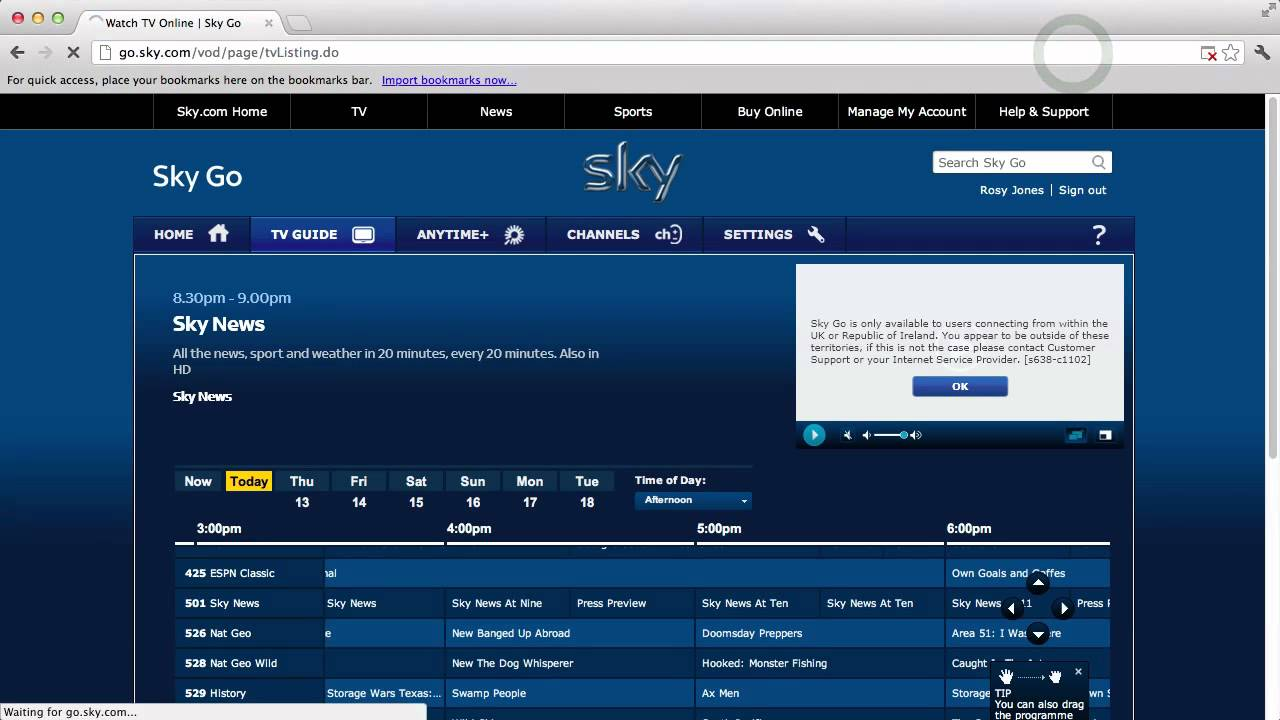 How To Watch Sky Go Abroad Youtube