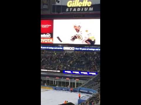 Bruins Habs rivalry montage winter classic