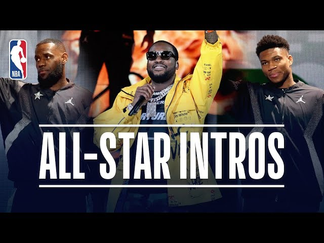 Meek Mill Headlines 2019 NBA All-Star Game Introductions | February 17, 2019
