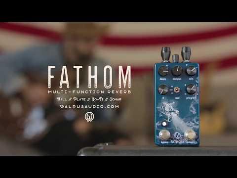 Walrus  Fathom MultiFunction Reverb Tech Demo