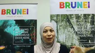 Message to Indian travellers by Salinah Salleh, Acting Deputy Director, Brunei Tourism at ATF 2020
