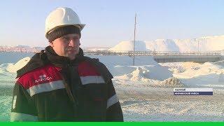 АЛРОСА возвела мост через реку Далдын для освоения Верхне-Мунского месторождения