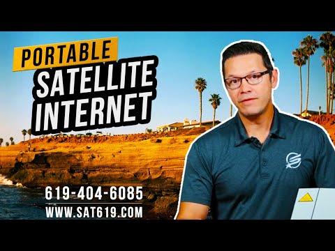 Portable Satellite Internet: Iridium GO, IsatHub, Inmarsat BGAN Explorer