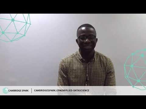 Applied Data Science: weekend three recap with Freddie Odukomaiya