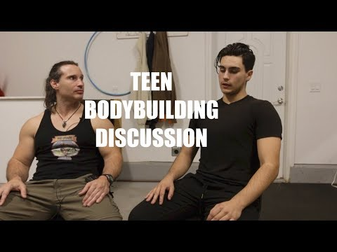 TEEN BODYBUILDING Discussion and Interview with Aspiring Teen Bodybuilder