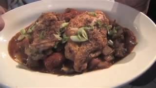 Chicken Cacciatore Dinner Video Recipe. A Italian Cuisine Chicken Favorite For Dinner.