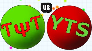 CLANWAR // TYT vs YTS // Epic Agario Clan Gameplay in public Server
