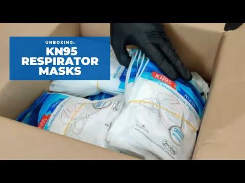 Cajas de Mascarillas Respiratorias KN95