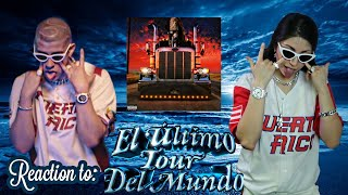 REACTING TO BAD BUNNY'S ALBUM DRESSED AS BAD BUNNY / EL ÚLTIMO TOUR DEL MUNDO REVIEW