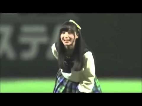 【天使すぎる始球式】橋本環奈 プロ野球 ソフトバンク対ロッテの