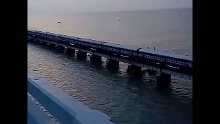 dhanushkodi,train,accident,1964,storm,cyclone,tsunami,pamban,bridge,rameshwaram,wap,wap4,indian,rail