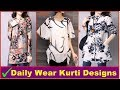 Stylish & Beautiful  Daily Wear Kurti Designs For Girls | Photos | images | Pictures | 2018
