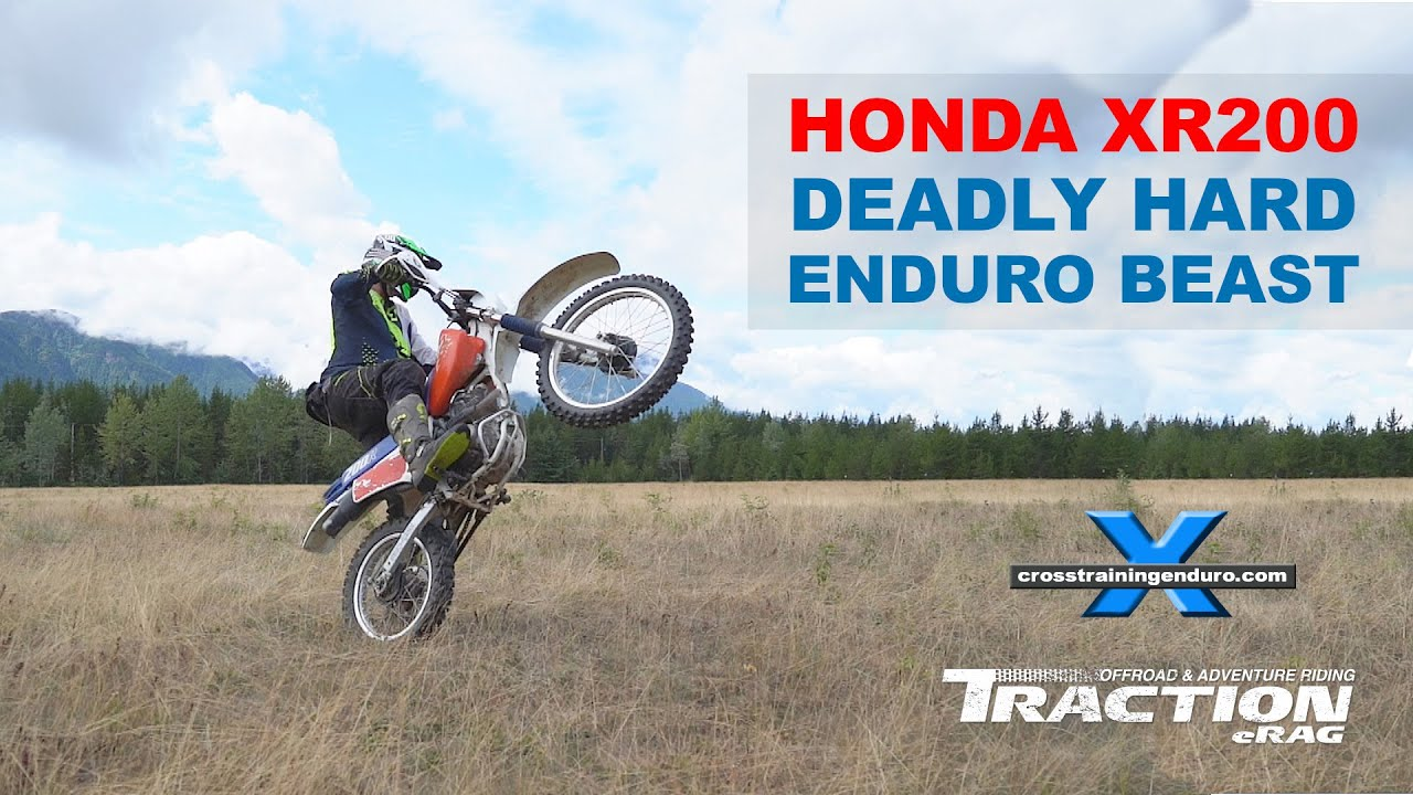 Honda deadly xr200 extreme enduro beast cross training enduro