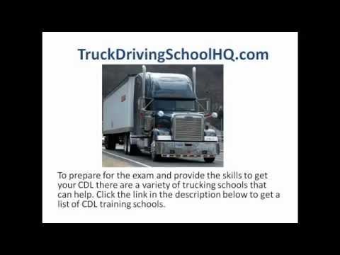 CDL in Ohio - Commercial Drivers License in Ohio