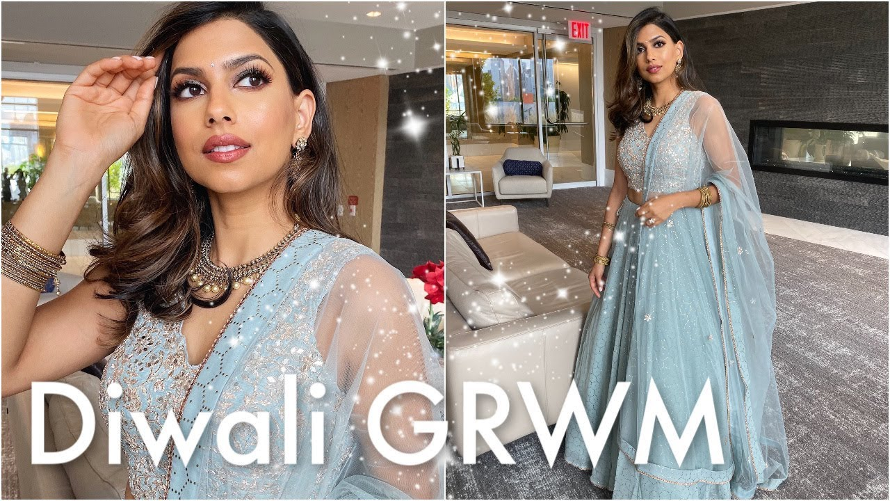 [VIDEO] - DIWALI 2019: Makeup, Hair & Outfit 1