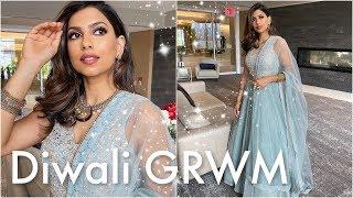 DIWALI 2019: Makeup, Hair & Outfit