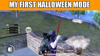 My First Halloween Mode Gameplay ! Pubg Mobile Hindi