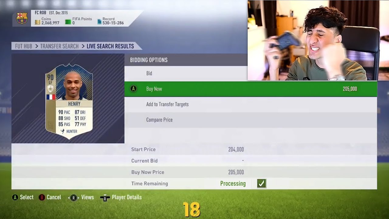 FIFA 18 - 2 MILLION COINS PROFIT IN 10 SECONDS!!