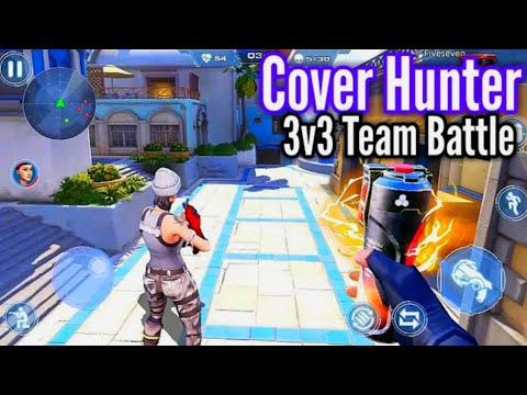 Cover Hunter - 3v3 Team Battle Official Trailer [ Android & iOS ]