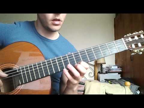 Grief and sorrow - Naruto de Toshiro Masuda (acoustic guitar solo + fingerstyle)