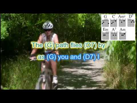A Bicycle Built for Two guitar and ukulele backing track with chords and lyrics