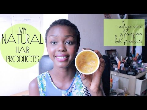 My Natural Hair Products & Herbal Butters for Healthy Hair Growth