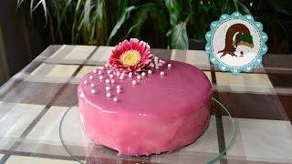 Mirror Glaze/ Spiegelglasur Torte/ Purzel-cake