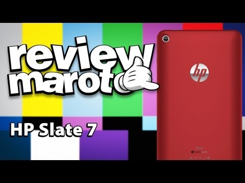 Tablet HP Slate 7 - Review Maroto