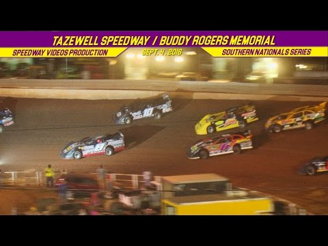 RacersEdge Tv | Buddy Rogers Memorial 44 | Tazewell Speedway | Sept 4 , 2016