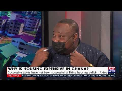 Why is housing expensive in Ghana - The Probe on JoyNews | 5 Sept 2021