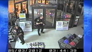 Police need help locating Dunhams Sporting Goods burglary su