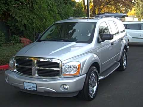2005 dodge durango limited 5 7l hemi awd loaded loaded. Black Bedroom Furniture Sets. Home Design Ideas