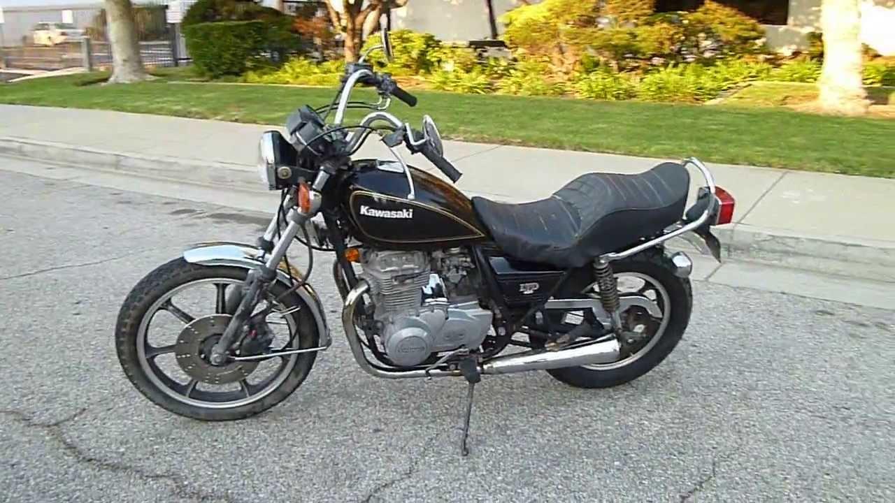 1980 Kawasaki KZ 440 LTD - YouTube
