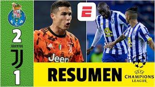 Porto 2-1 Juventus DRAMÁTICO FINAL. Cristiano Ronaldo molesto. Tecatito sobrevive | Champions League