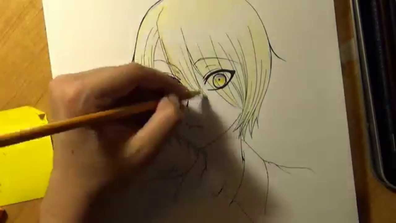 How to draw anime pencil in stages How to draw anime girl 45